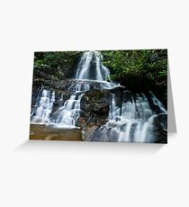 Laurel Falls - GSMNP Greeting Card
