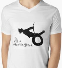 To kill a mockingbird Men's V-Neck T-Shirt