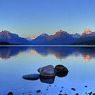 Lake McDonald by Dave Hampton