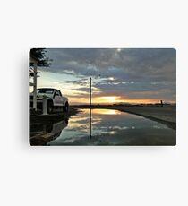 Storm Sunset Canvas Print
