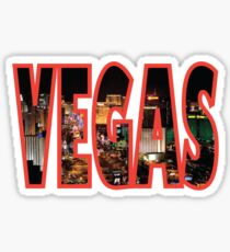 Las Vegas - Red Sticker