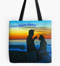 Wish You Were Here Tote Bag