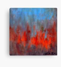 Abstract Note no. 11 Canvas Print