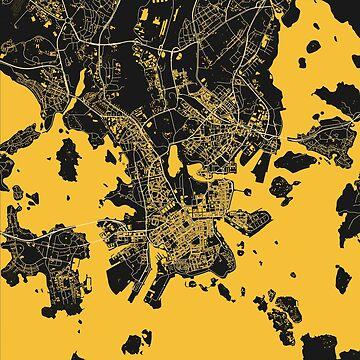 Helsinki Map by duzhd