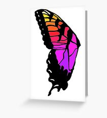 Butterfly wing pmore brand new eyes inspired  Greeting Card