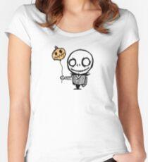 mini jacks nightmare Women's Fitted Scoop T-Shirt