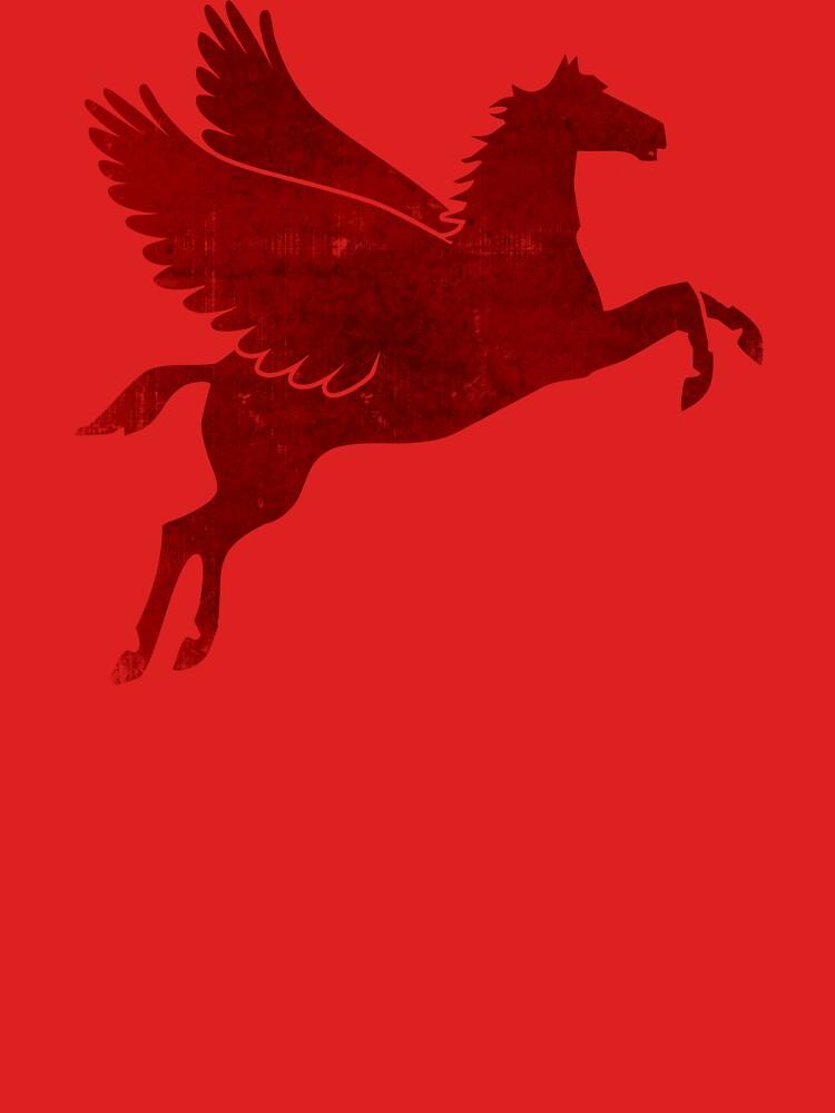 Damaged Pegasus by timcostello