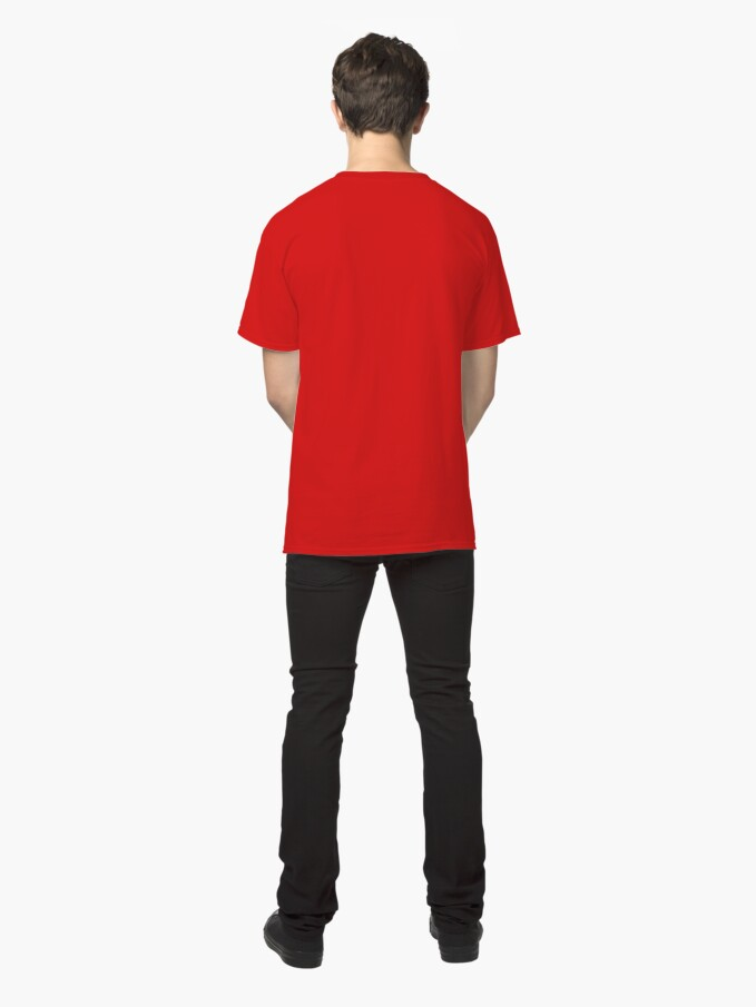Alternate view of Shift Shirts Silhouette – Longtail Inspired  Classic T-Shirt