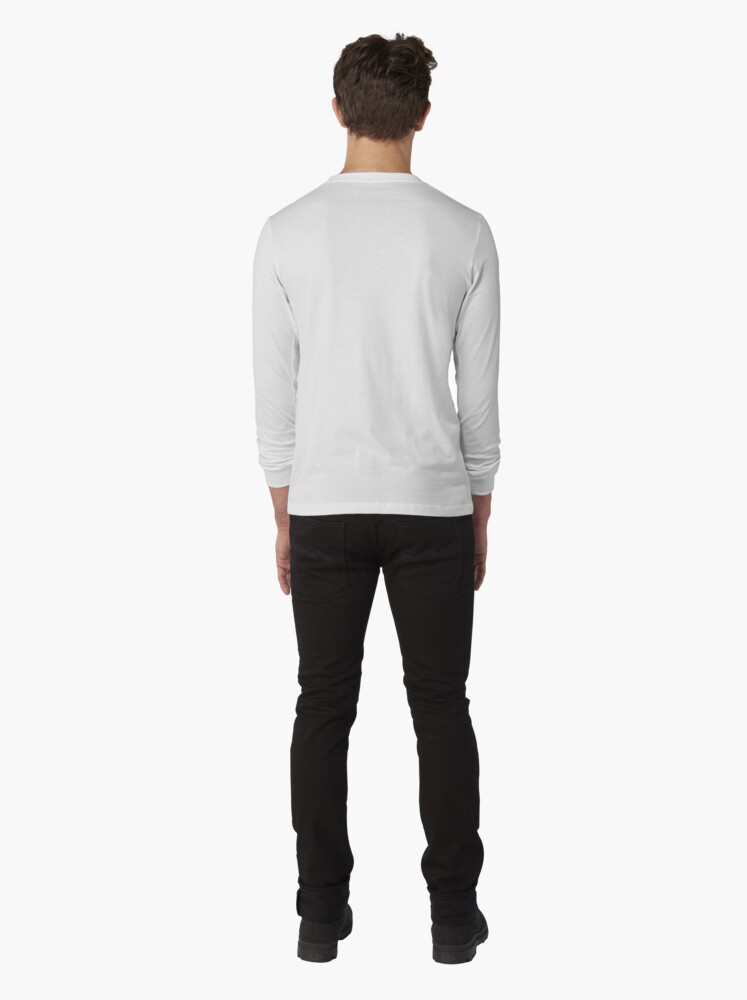 Alternate view of be happy  Long Sleeve T-Shirt