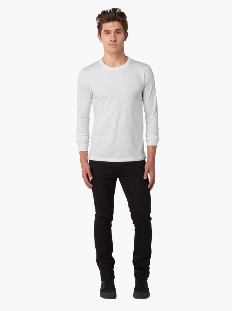 Alternate view of Summoning circle pentagram - Dreamcatcher Long Sleeve T-Shirt