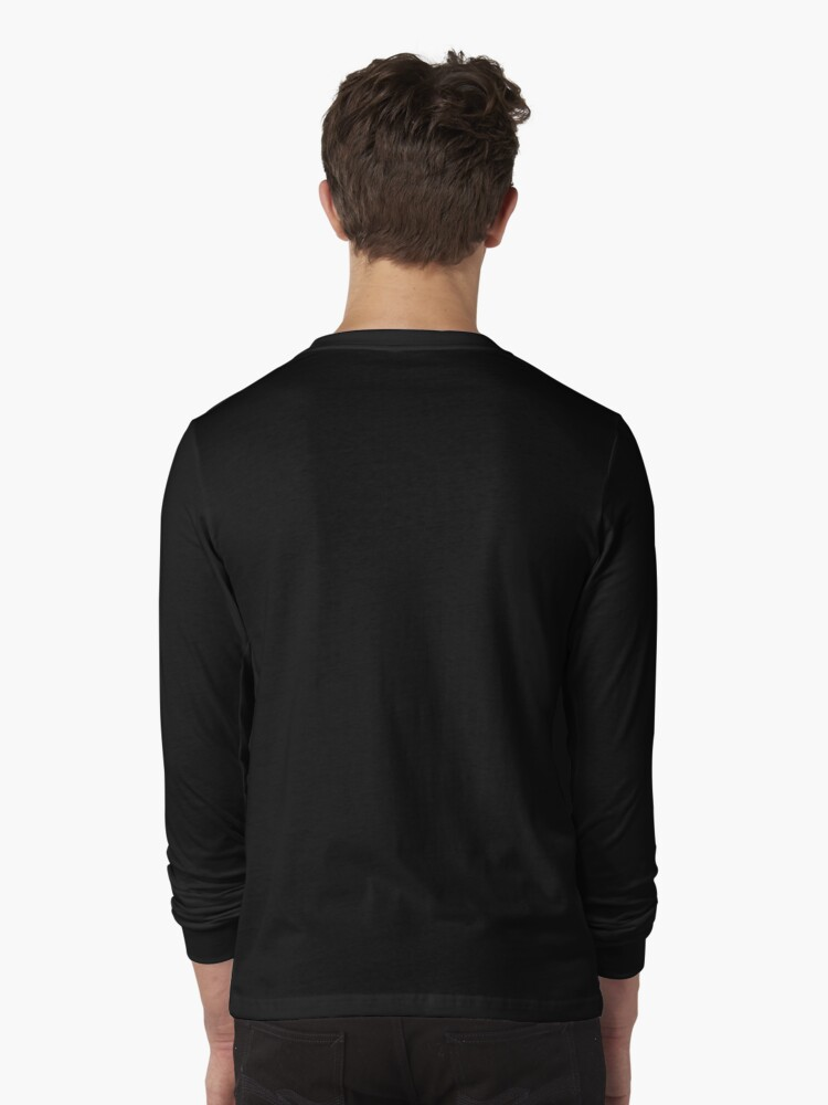 Alternate view of Times Square New York City Grand Badge Emblem (on black) Long Sleeve T-Shirt