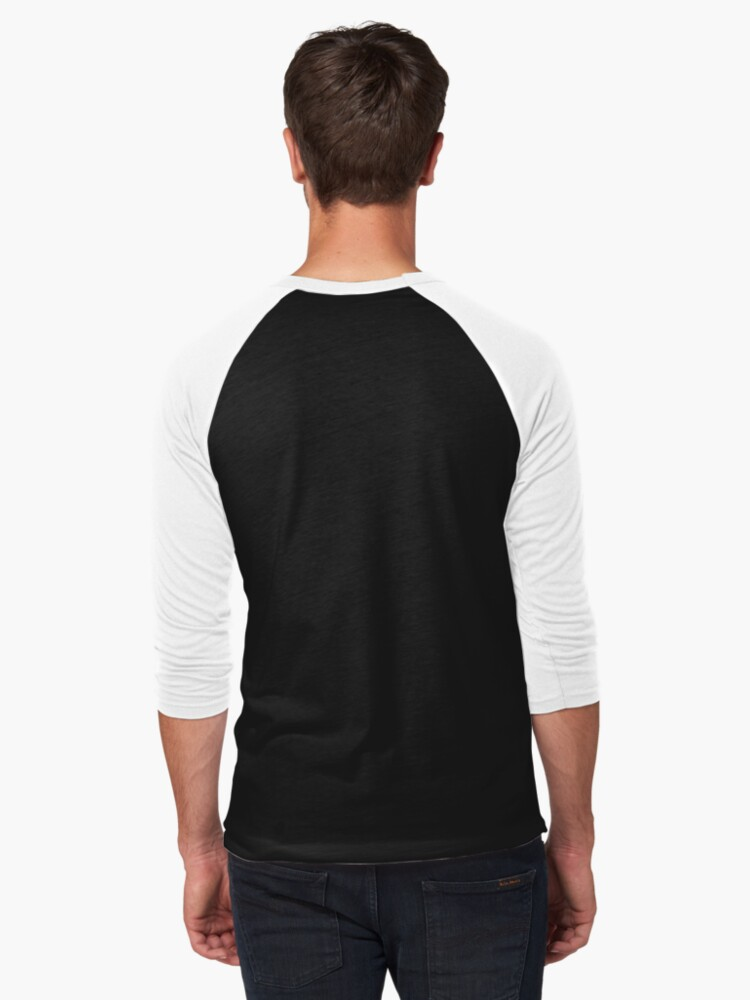 Alternate view of The Birches Baseball ¾ Sleeve T-Shirt