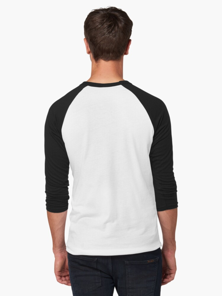 Alternate view of Thoughts Baseball ¾ Sleeve T-Shirt