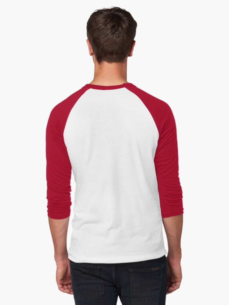 Alternative Ansicht von Venice Beach - Kalifornien. Baseballshirt mit 3/4-Arm