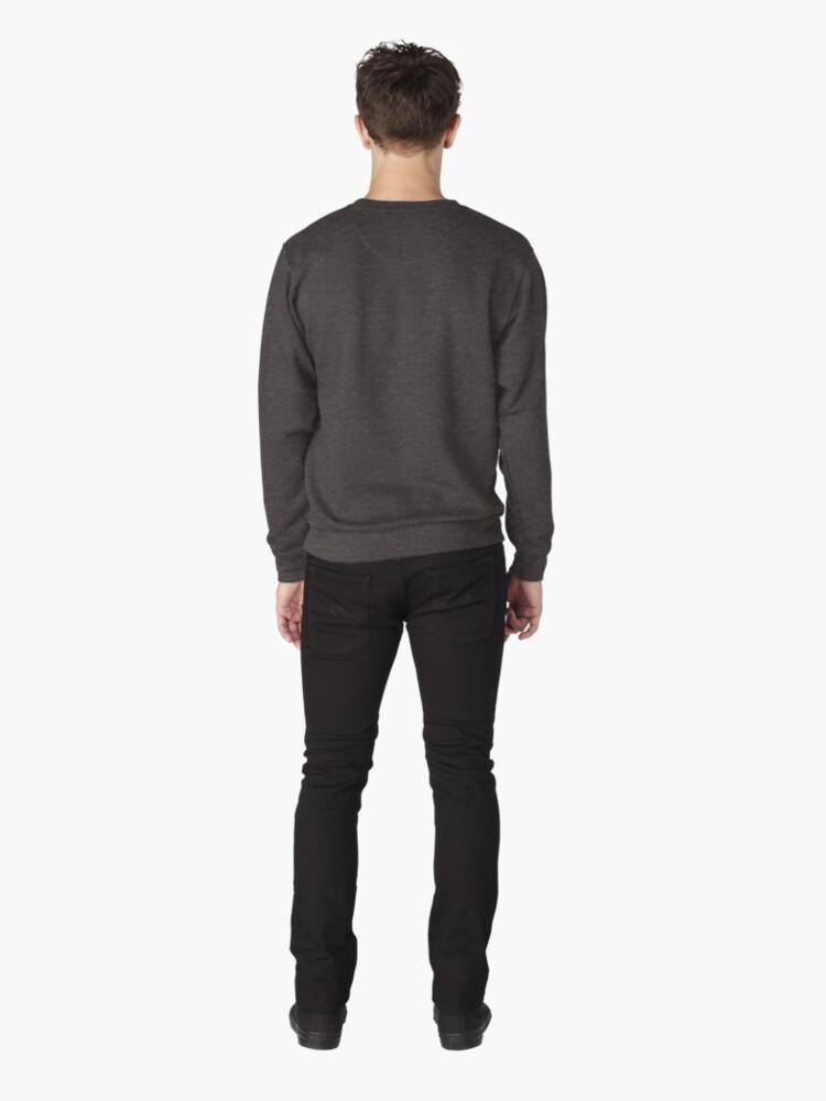 Alternate view of Keep Calm And Pilgrim On Pullover Sweatshirt