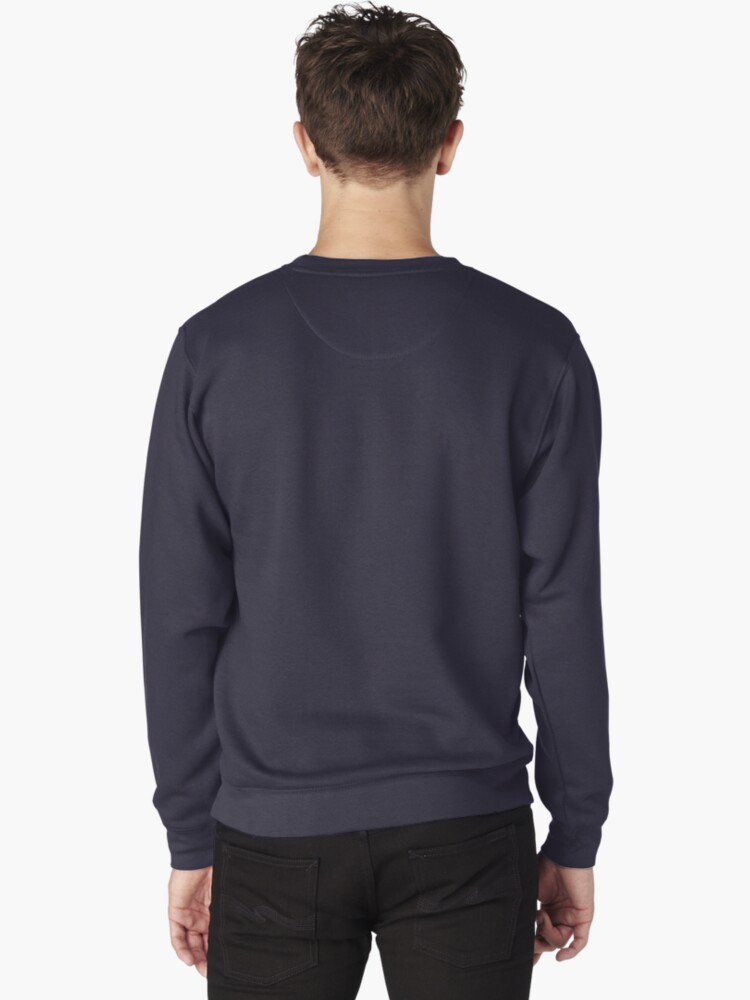 Alternate view of Be Brave Badger Crest Pullover Sweatshirt