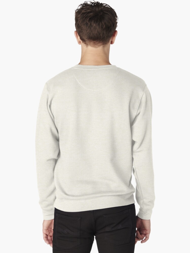 Alternate view of Origami Koi Fish Pullover Sweatshirt