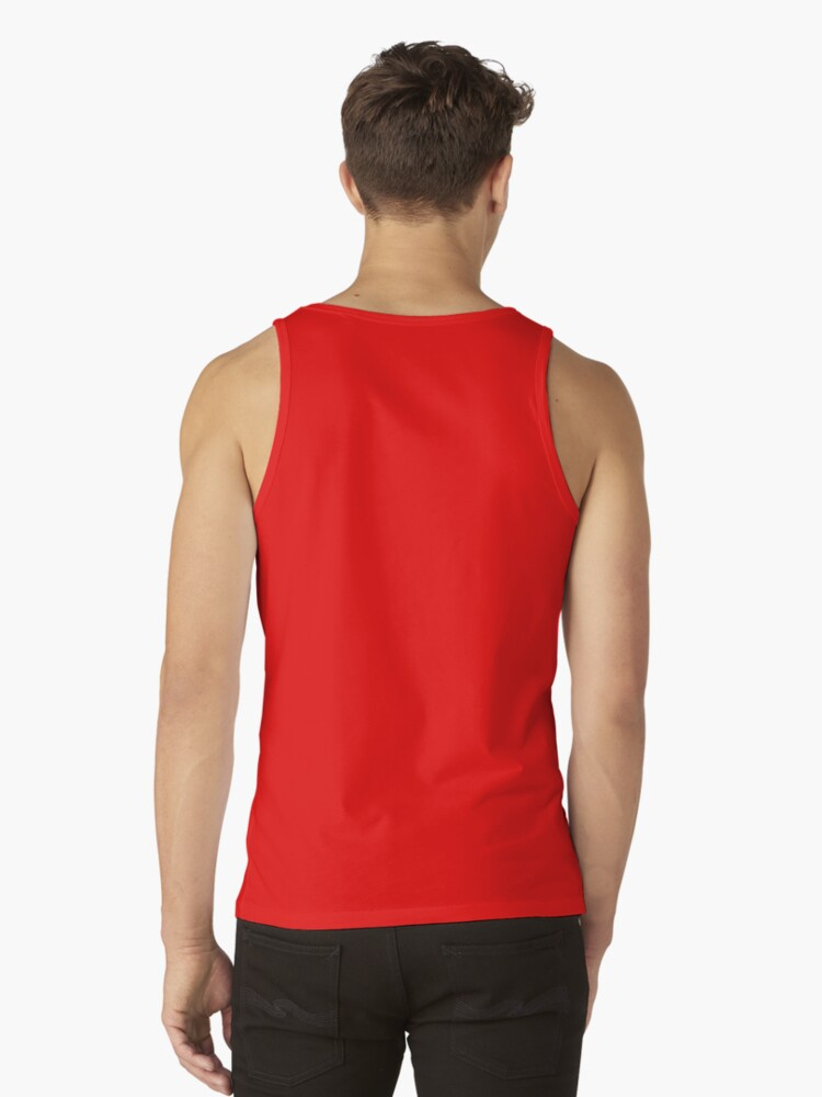 Alternate view of Red Cat Tank Top