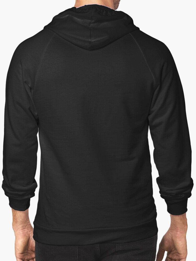Alternate view of Choose life | Wham | Quote Zipped Hoodie