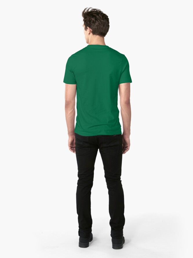 Alternate view of Hacker h4x0r Slim Fit T-Shirt