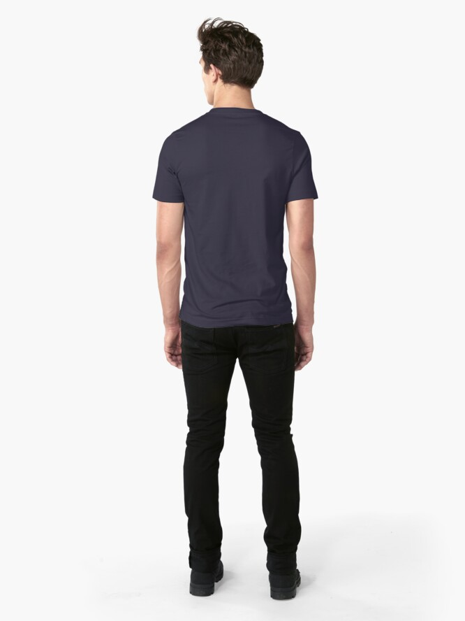 Alternate view of Musky Outfitters: White Slim Fit T-Shirt