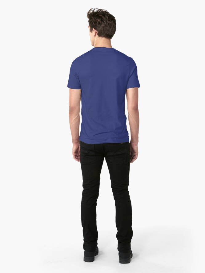 Alternate view of iDad Slim Fit T-Shirt