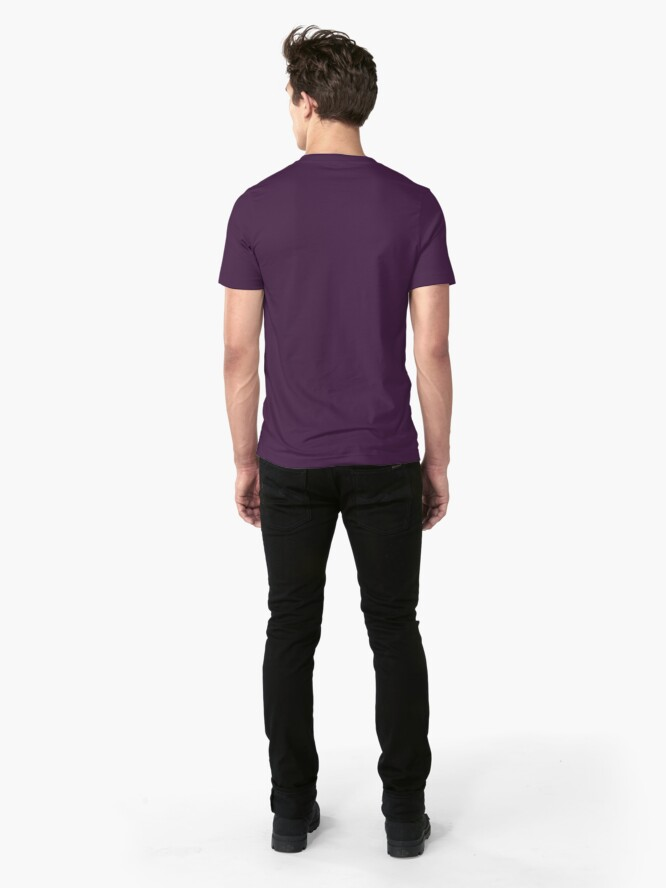Alternate view of Peacock Feather Slim Fit T-Shirt