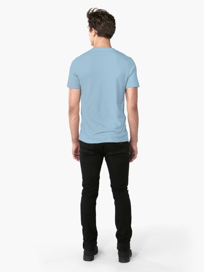 Alternate view of Board and Oars Horizontal  Slim Fit T-Shirt