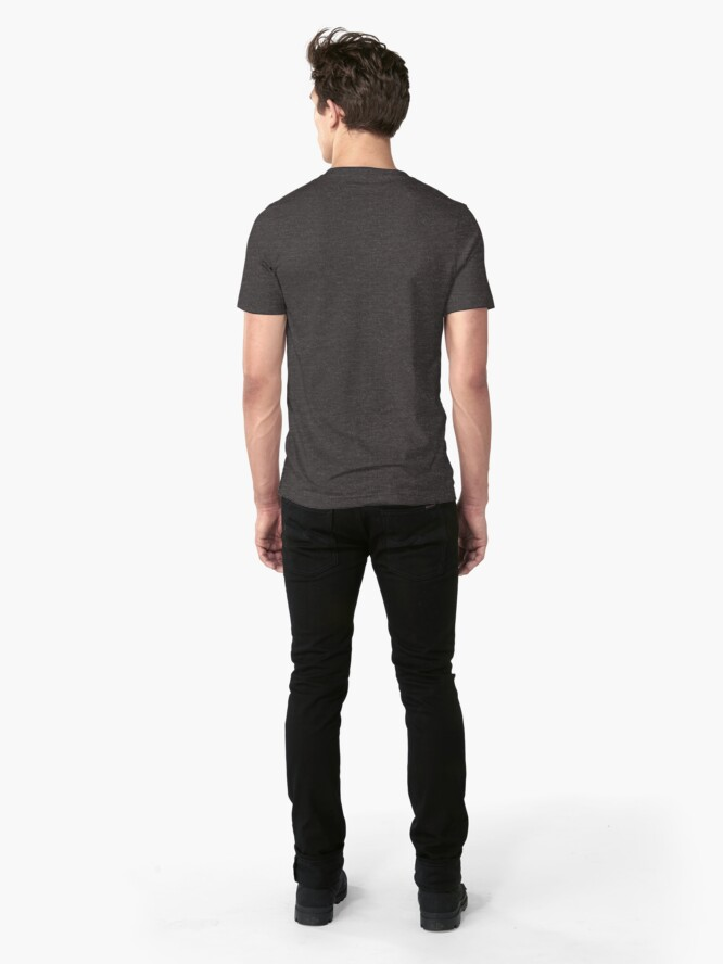 Alternate view of Weapons Of Mass Creation (on grey) Slim Fit T-Shirt