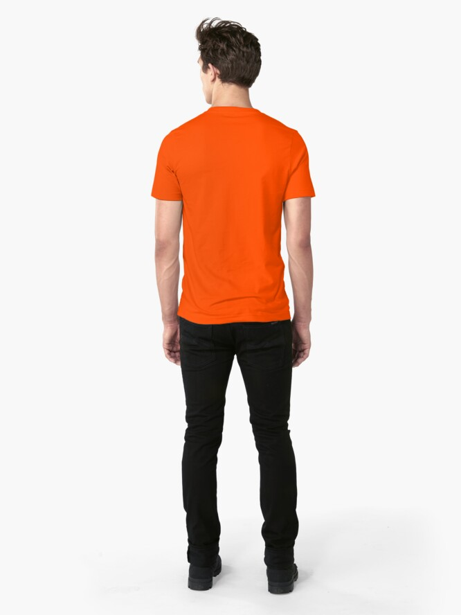 Alternate view of There's a new mayor in town. Slim Fit T-Shirt
