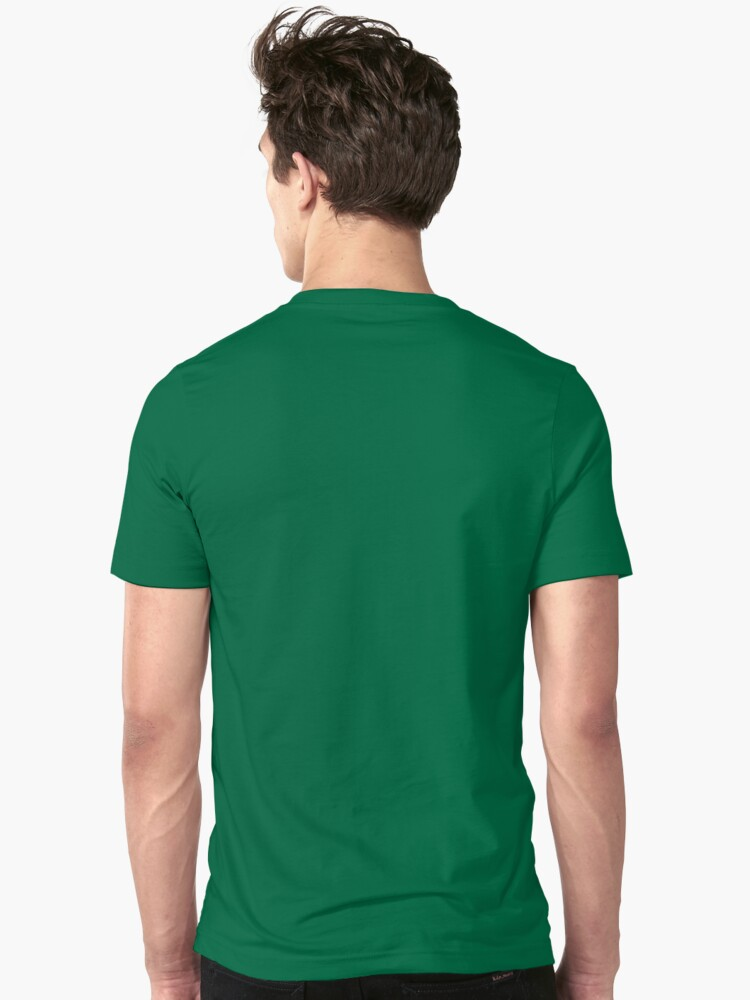 Alternate view of Cartoon Stegosaurus Slim Fit T-Shirt
