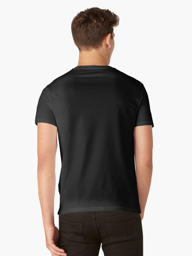 Alternate view of Charles Darwin V-Neck T-Shirt