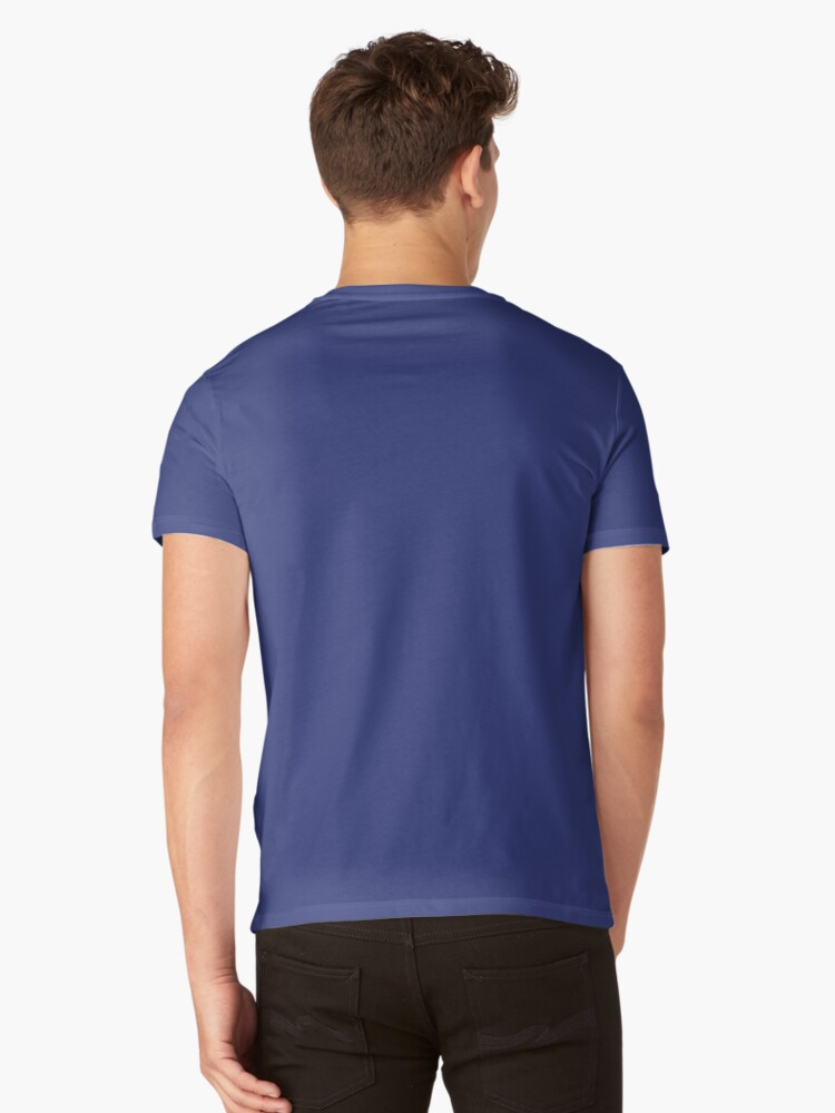 Alternate view of Bisexual Pride Symbol V-Neck T-Shirt