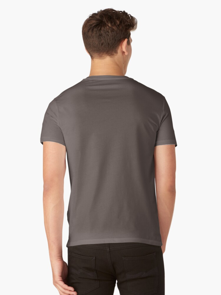 Alternate view of Late Autumn Forest V-Neck T-Shirt