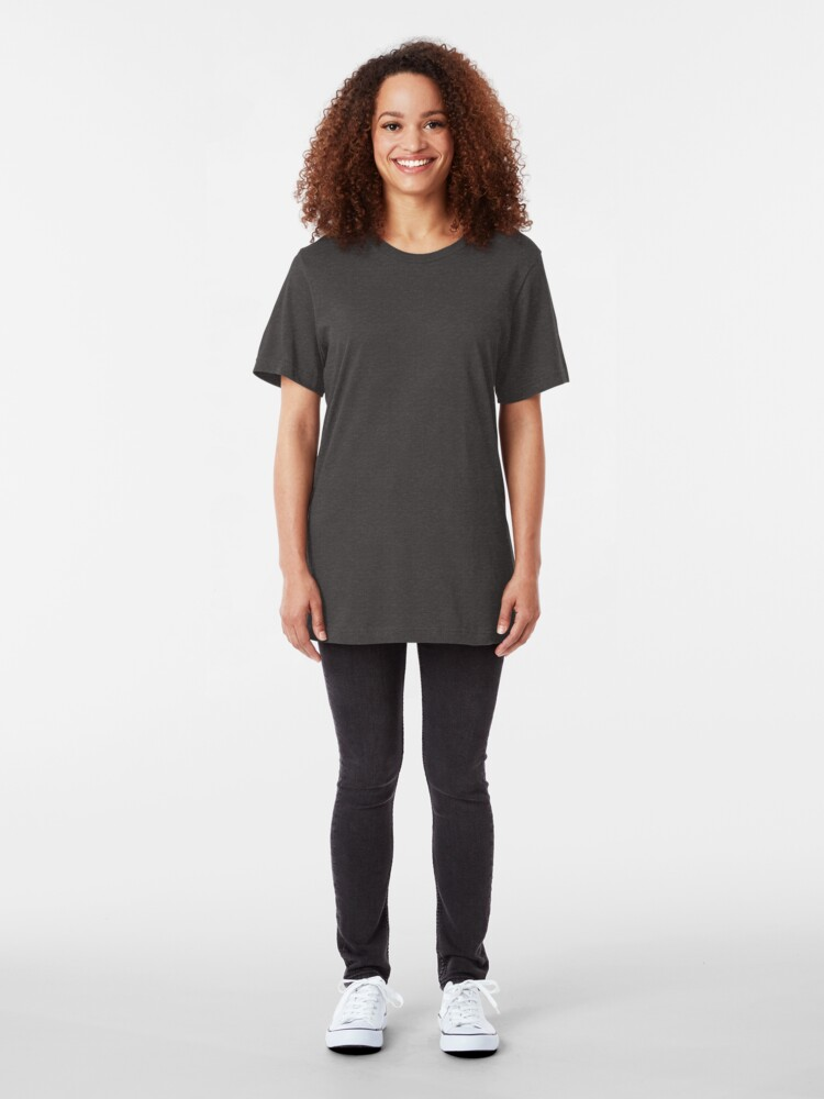Alternate view of SwingTime Dolls Official Logo Slim Fit T-Shirt
